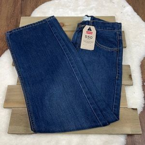 Levi's NWT 550 Relaxed Tapered Leg Mom Jeans